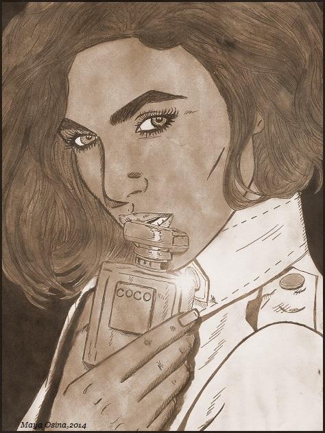 Keira Knightley by MayaOsina